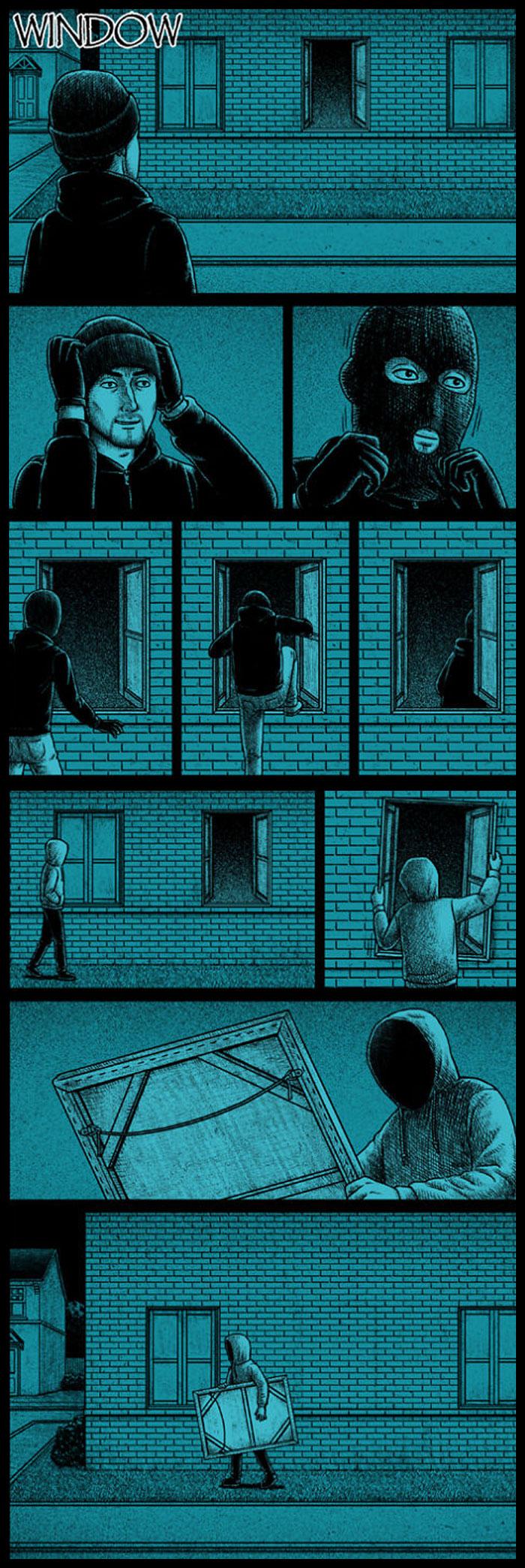 Фото №14 - 30 комиксов с отборным черным юмором от Бена Чена