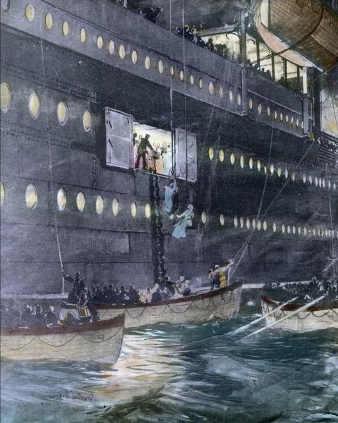 Фото №6 - Непотопляемая: история Вайолетт Джессоп, которая выжила после крушения трех кораблей, включая «Титаник»