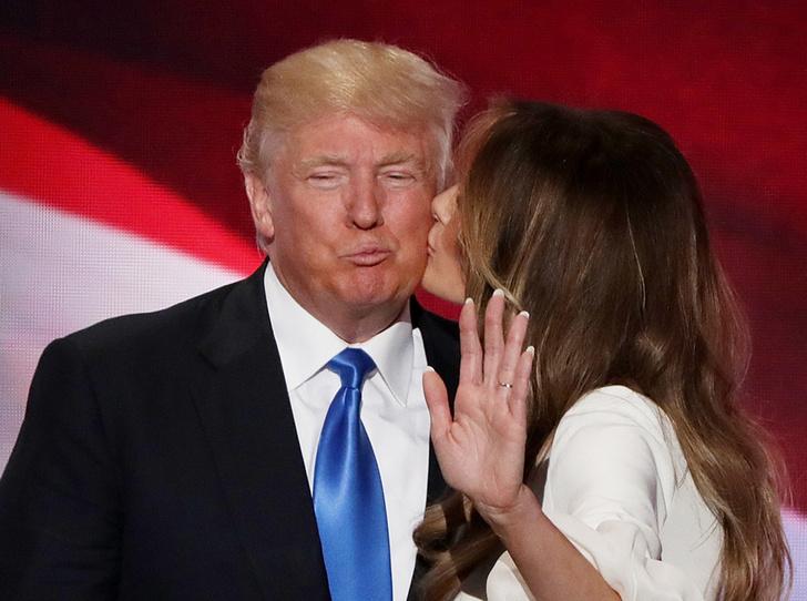 Фото №9 - Неочевидная причина, почему Мелания вышла замуж за Дональда Трампа