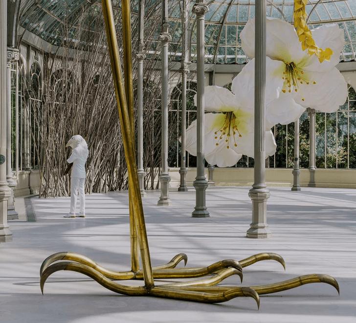 Фото №5 - Язык цветов: инсталляция в Хрустальном дворце в Мадриде