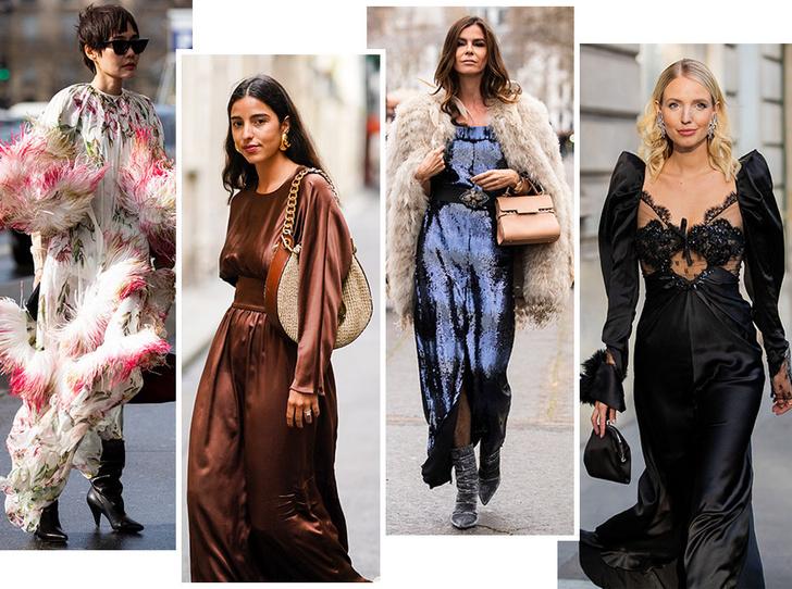 Фото №1 - Самые модные платья для встречи Нового 2020 года: 5 главных трендов