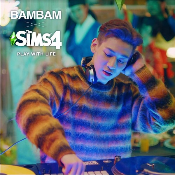 Фото №1 - У БэмБэма из GOT7 вышла новогодняя коллаборация с The Sims 4