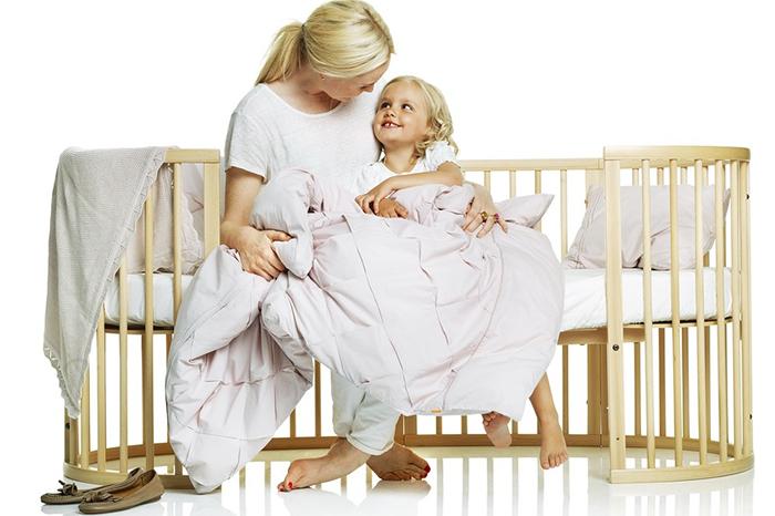 Фото №6 - Скандинавские сны: Stokke® Sleepi™ - новый цвет кроватки-трансформера