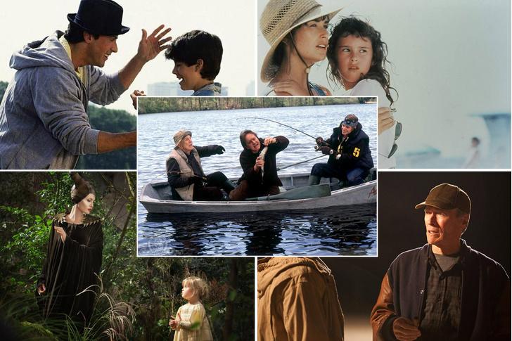 Фото №1 - 17 фильмов, в которых известные актеры снялись со своими детьми (или родителями)