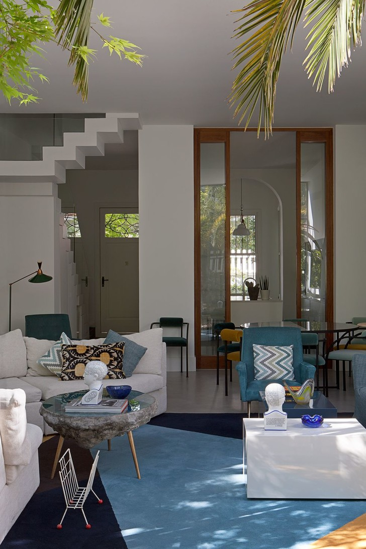 Фото №4 - Светлый дом с яркими акцентами в Мадриде