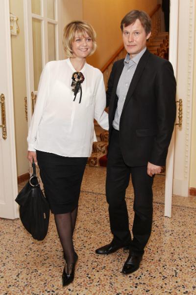 Игорь Гордин и Юлия Меньшова фото