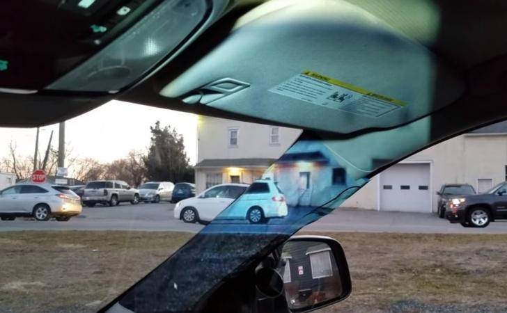 Фото №1 - 14-летняя школьница сделала мамину машину «прозрачной» (видео машины прилагаем)