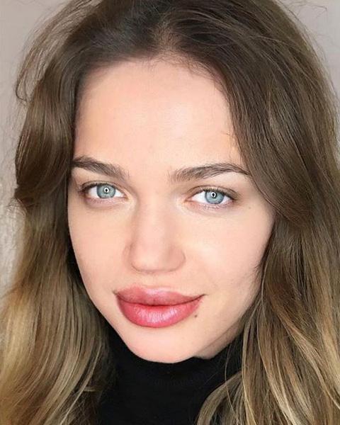 Фото №2 - Как татуаж губ меняет внешность: 20 фото до и после