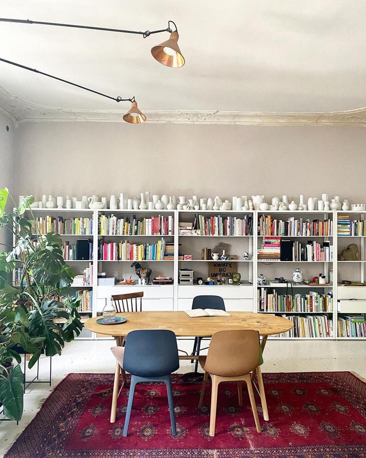 Фото №2 - Квартира польских флористов в Познани