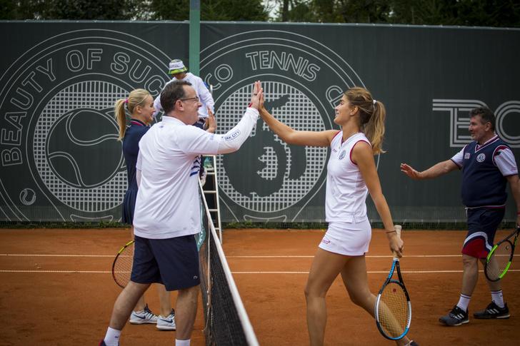 Фото №1 - Как прошел теннисный турнир Bosco Friends Open