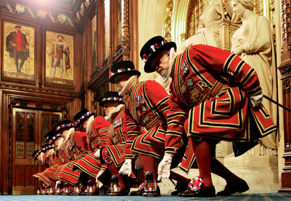 Фото №1 - Британский парламент глазами прислуги