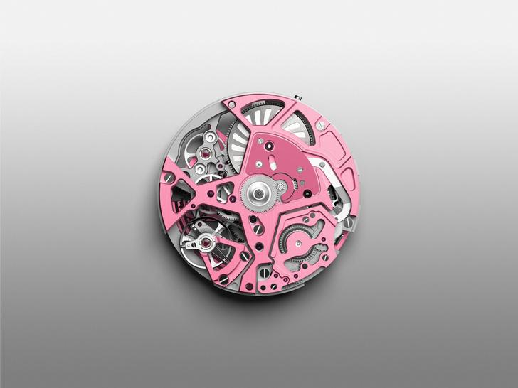 Фото №4 - В розовом цвете: Zenith представил новинку Defy 21 Pink Edition