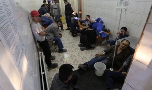 Фото №1 - Причиной отравления строителей Пулково стала стафилококковая пищевая токсикоинфеция