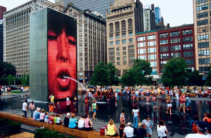 Фото №2 - 21 самый необычный фонтан мира
