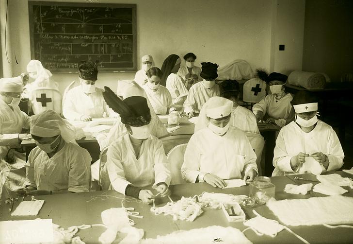 Фото №1 - 100 лет назад... Бушевала пандемия испанского гриппа