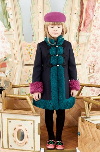 Фото №15 - Золотая карусель: лукбук осенне-зимней детской коллекции Gucci 2016/17