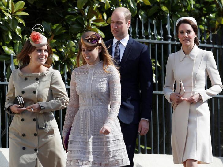 Фото №2 - Семейные трудности: что не поделили принцесса Беатрис и герцогиня Кейт