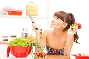 Здоровая пища - прмяой путь к красоте кожи.