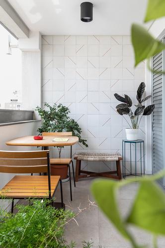 Фото №8 - Бетонная квартира с розовыми акцентами в Сан-Паулу