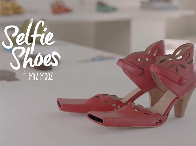 Фото №1 - В США представили «Селфи-туфли»