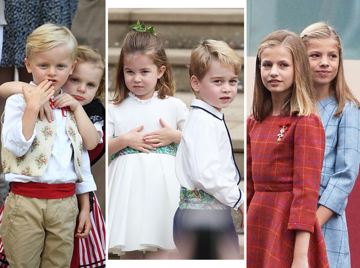 Фото №1 - Как воспитываются дети европейских аристократов