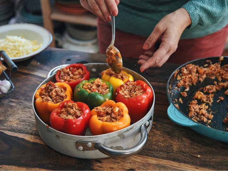 Фото №3 - Фаршированный перец по-новому: секретный рецепт королевского повара