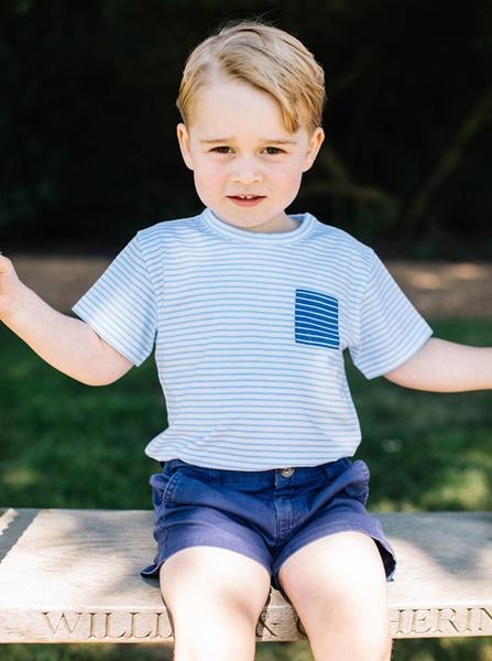 Фото №4 - С днем рождения: новые фото принца Джорджа