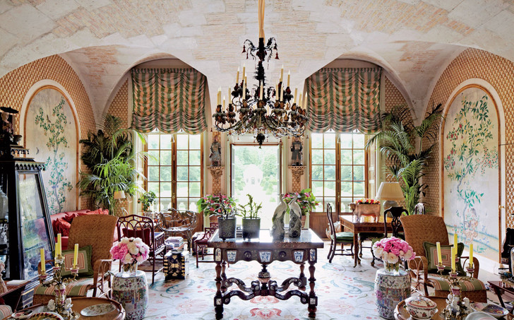 Фото №2 - Как живет Валентино: все дома известного кутюрье