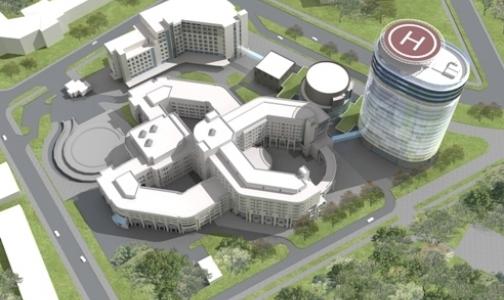 Фото №1 - Новый корпус центра  Алмазова собираются достроить за год
