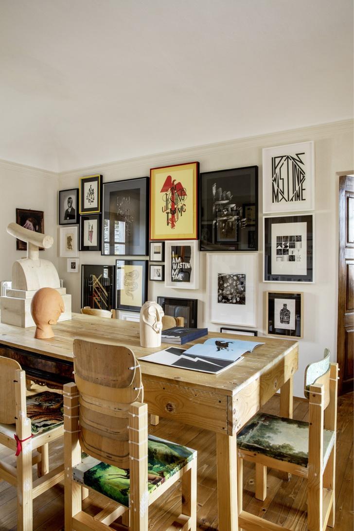 Фото №7 - Дом художника: арт-вилла в Италии