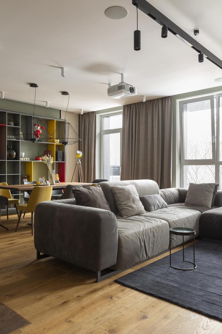 Фото №4 - Квартира 122 м² в Москве для семьи с двумя детьми и двумя собаками