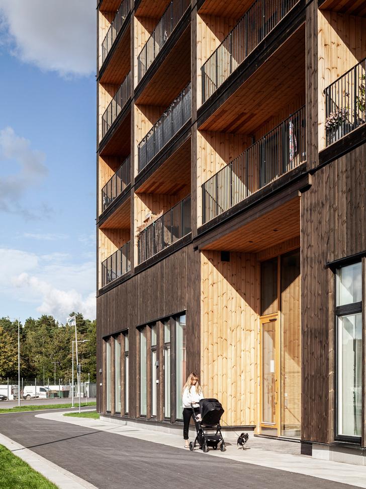 Фото №4 - В Швеции построили полностью деревянную восьмиэтажку (фото)