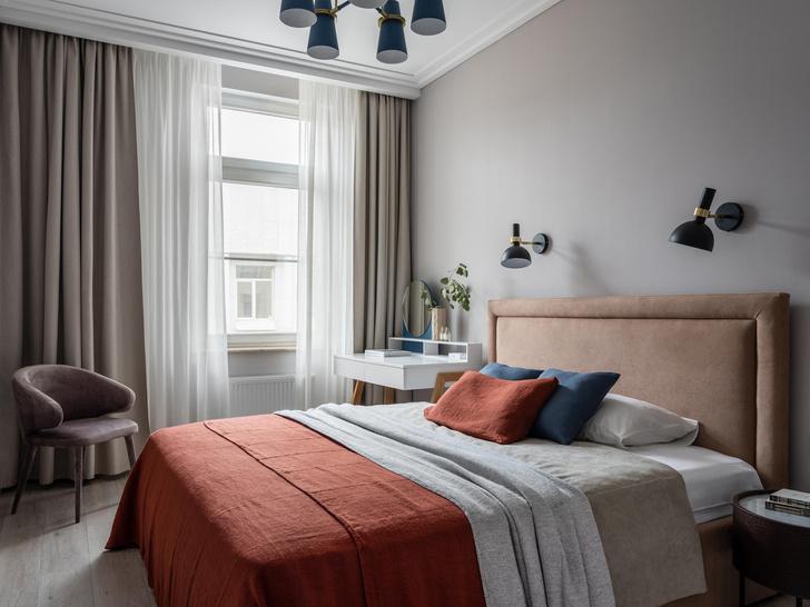Фото №10 - Квартира 100 м² в оттенках зелени, моря, песка и заката