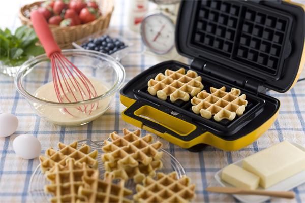 Подробные рецепты для вафельницы