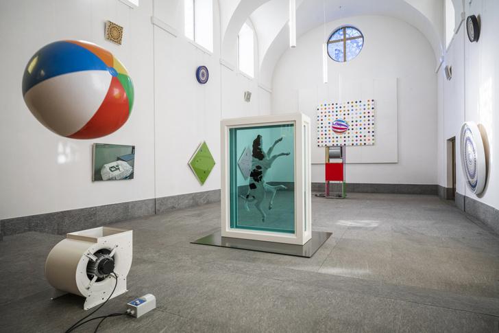 Фото №5 - Mental Escapology: выставка Дэмиена Херста в Санкт-Морице