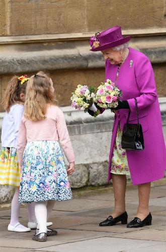 Фото №10 - Никому не верь: герцогиня Кембриджская вышла из декрета (но всего на день)