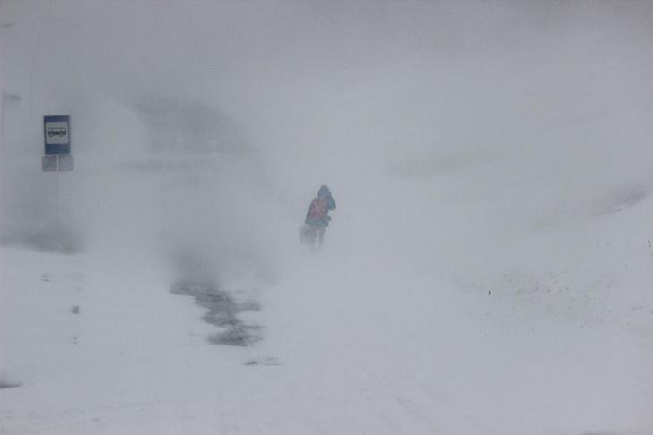 Фото №1 - На Москву надвигается «снежный апокалипсис»