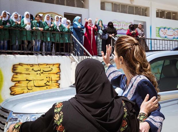 Фото №7 - Король Абдалла и его Рания: восточная сказка, ставшая реальностью