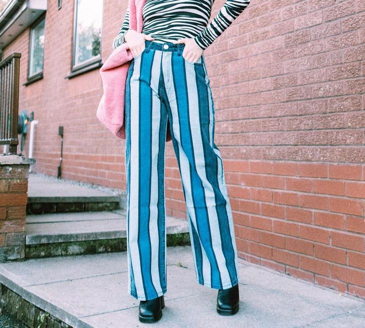Фото №12 - DIY: 20 способов преобразить старые джинсы