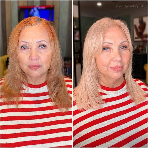 Фото №2 - Боня сменила имидж своей 64-летней маме