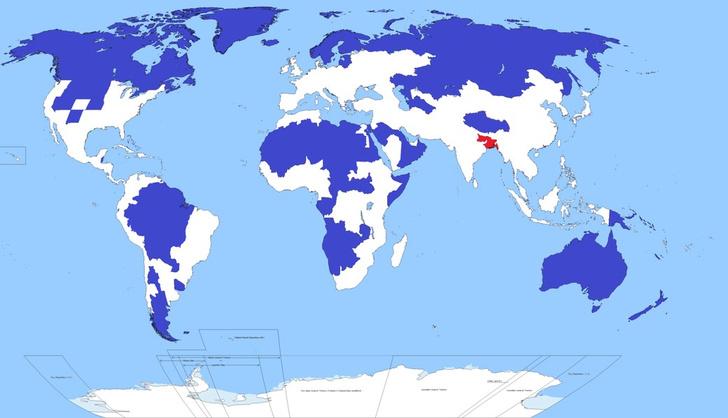 Фото №3 - 10 карт мира, которые показывают нашу планету с неожиданной стороны