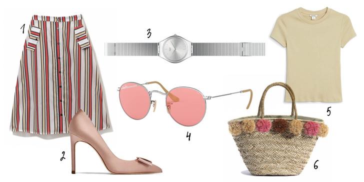 Фото №2 - Разноцветные очки – наш выбор на лето: как носить и с чем сочетать?