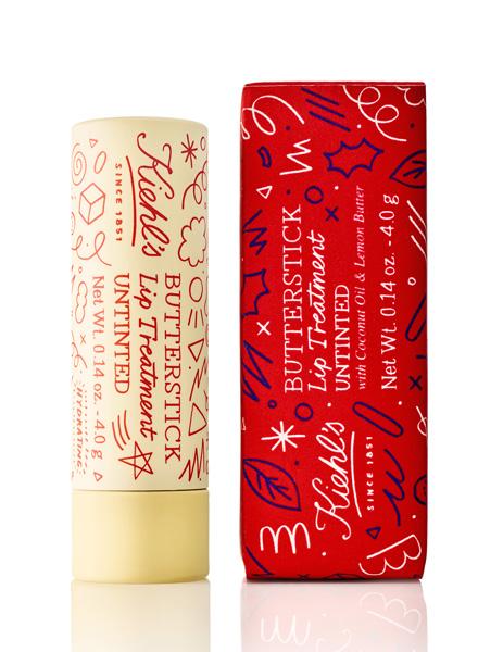 Бальзам-стик для губ Butterstick Lip Treatment, Kiehl's x Kate Moross