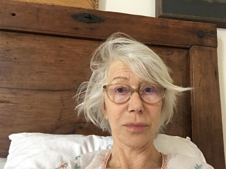 Фото №10 - Хелен Миррен без макияжа выглядит обычной очаровательной старушкой