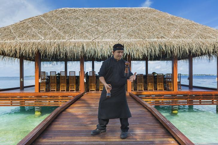Фото №6 - 10 удивительных фактов о необычном отеле Kurumba Maldives