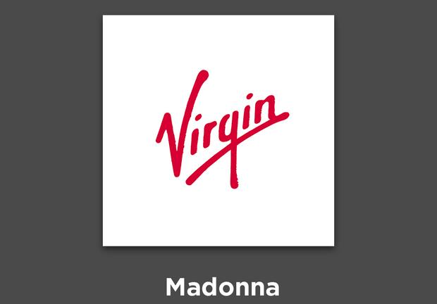 Фото №1 - 27 альбомов поп- и рок-звезд в виде известных логотипов
