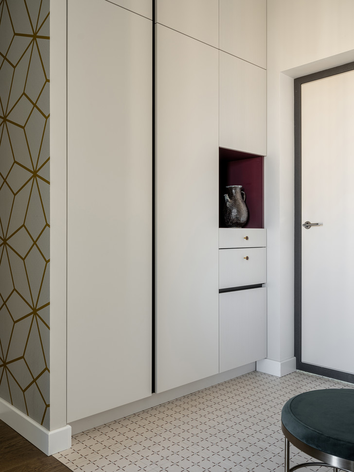 Фото №14 - Московская квартира 80 м² с яркой геометрией