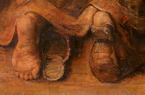 Фото №7 - Цвет любви: 9 загадок картины Рембрандта «Возвращение блудного сына»