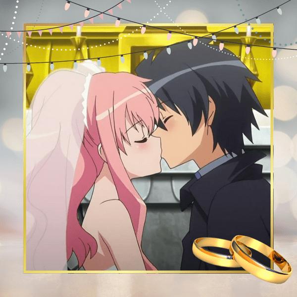 Фото №1 - Тест-рулетка: Какой герой аниме стал бы твоим мужем? 💍