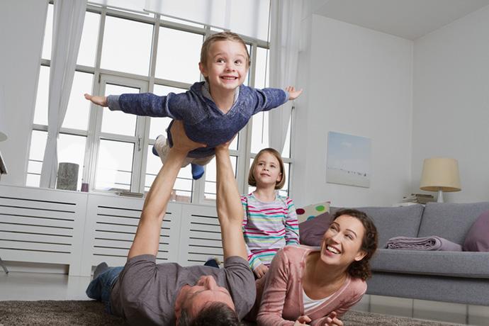Растить детей от разных браков